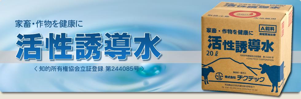 活性誘導水